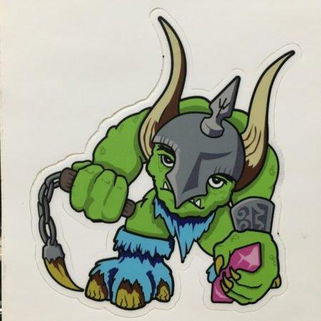Ice Goblin Sticker