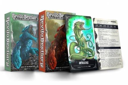 Revilo Bestiary Deck