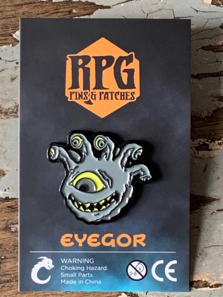 Undead Eyegor Enamel Pin Carded