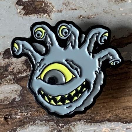 Undead Eyegor Enamel Pin
