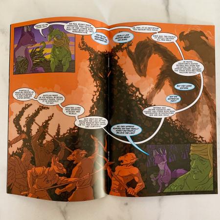 Revilo Comic Issue 1 Spread